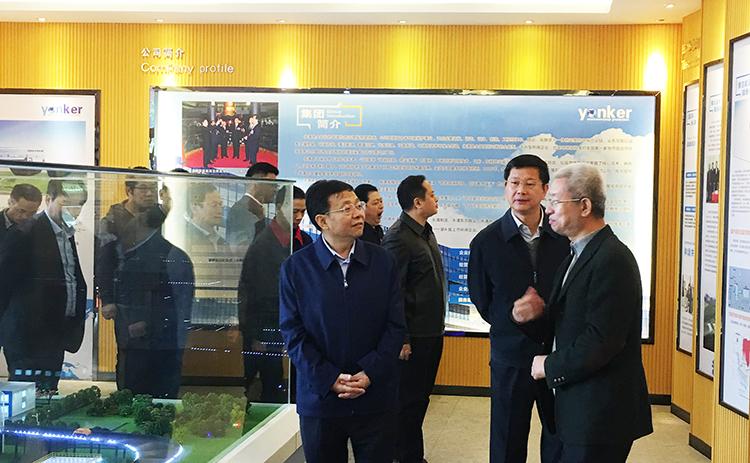 江西省委常委、副省长刘强到永清环保新余垃圾发电厂调研